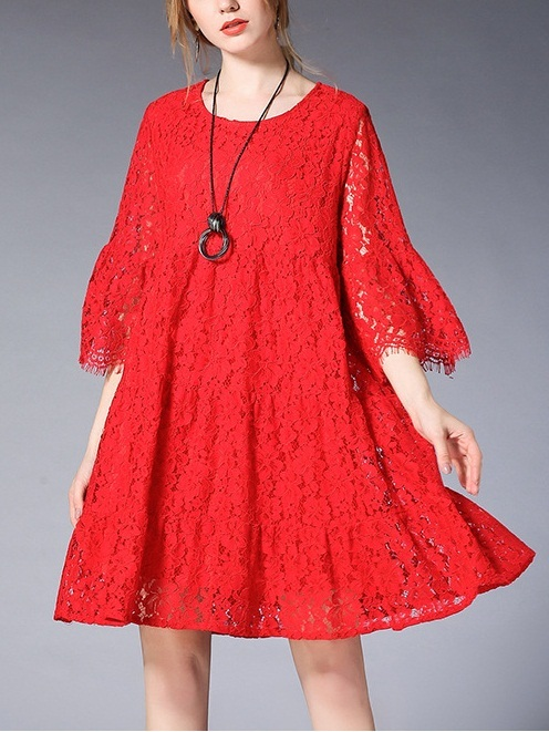 (3 Colours) Karalee Lace Dress
