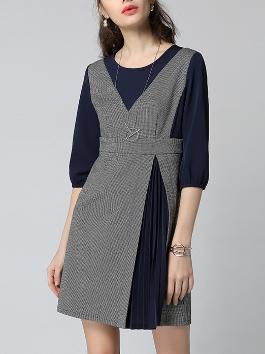 Katenka Pleat Layer Dress