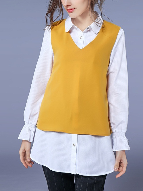 Katharine Shirt and Vest Set