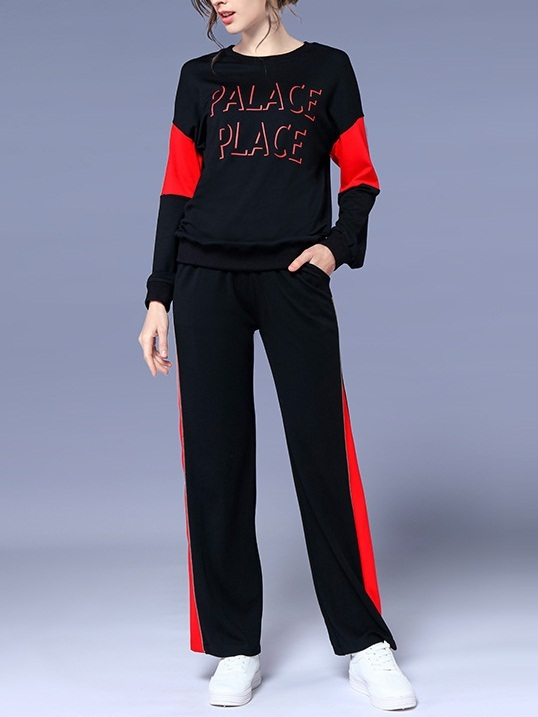 Kathlyn Palace Tracksuit Top and Pants Set