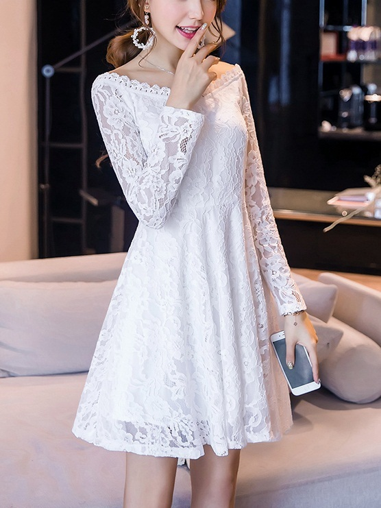Kelby Off Shoulder Lace Dress (3 Colours)