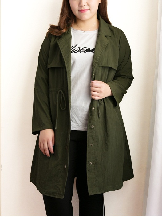 Kinslee Green Utility Jacket (EXTRA BIG SIZE)