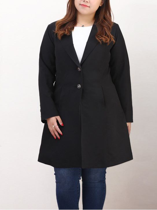 Kysha Long Blazer (EXTRA BIG SIZE)