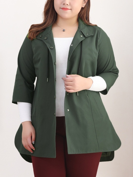 Kyndal Green Jacket (EXTRA BIG SIZE)