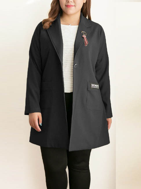 Kyleena Long Length Blazer Jacket