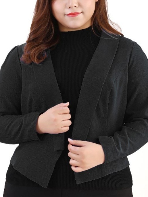 Kwyn Blazer Jacket (EXTRA BIG SIZE) (2 COLOURS)