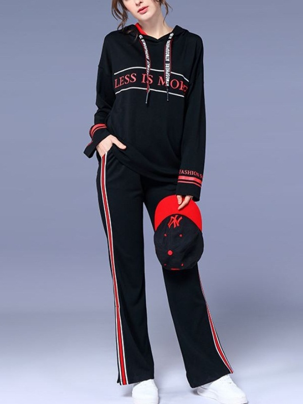 Lama Hoody Top and Track Pants 2 Piece Set