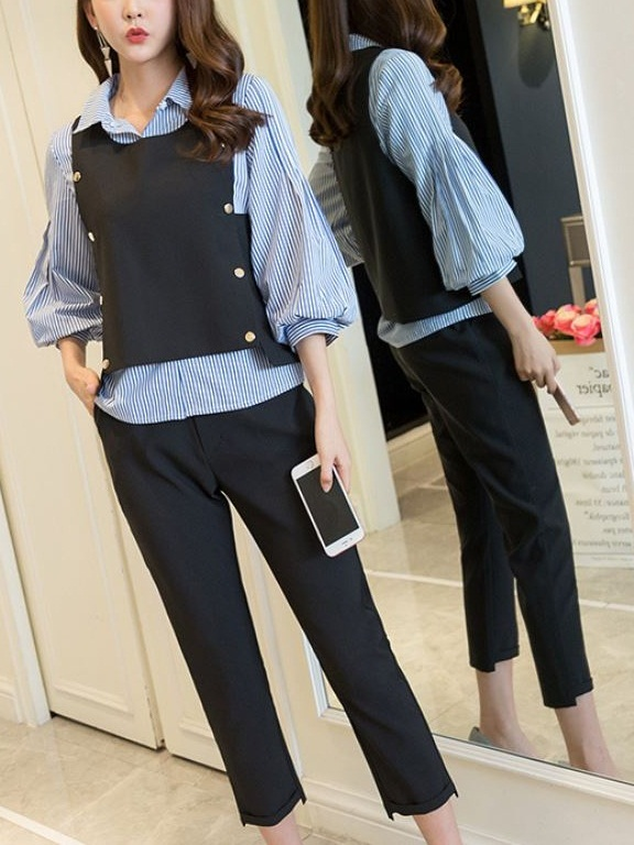 Lakey Shirt, Vest and Pants 3 Piece Set
