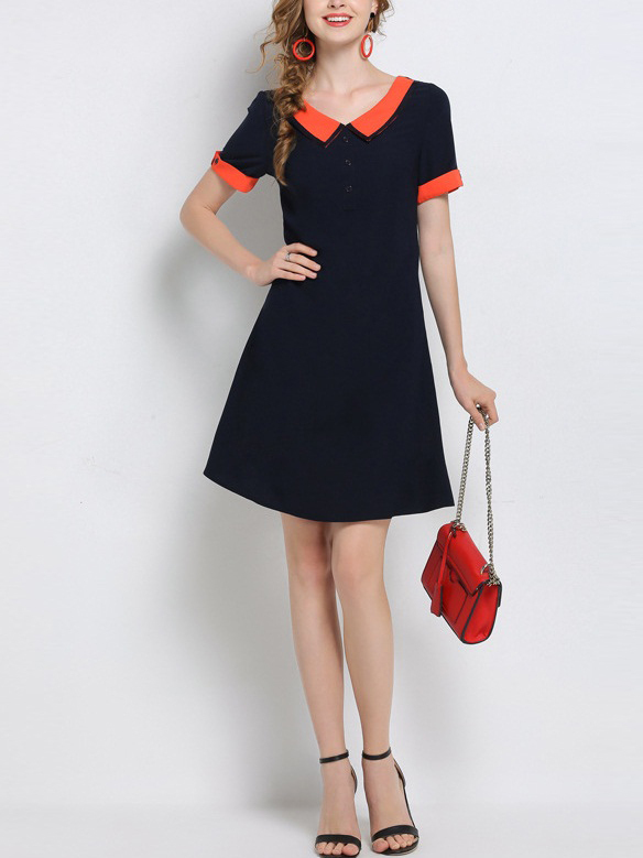 Lara Peter Pan Collar Shirt Dress