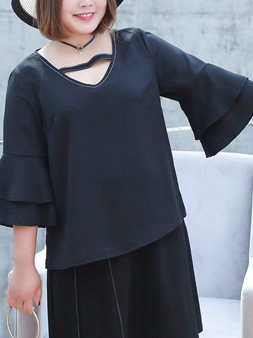 Lisbeth V Neck Blouse