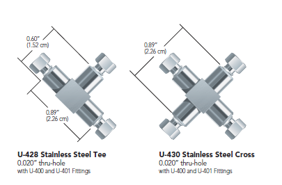 Idex Stainless Steel Tees & Crosses