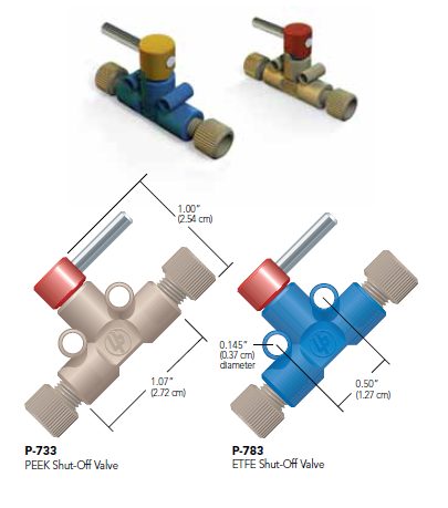 Idex Shut-Off Valves
