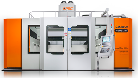 Apec 5-Axis Gantry Linear Motor Machining Center, GM series