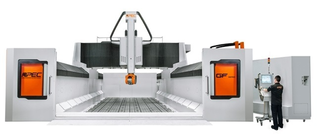 Apec 5-Axis Gantry Machining, GF series