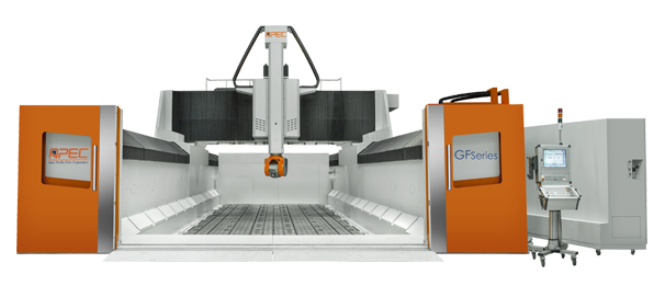 Apec 5-Axis Heavy Cutting Machine, GF series