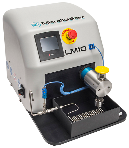 Microfluidics LM10 High Shear Fluid Processor
