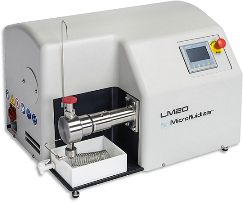 Microfluidics LM20 High Shear Fluid Processor