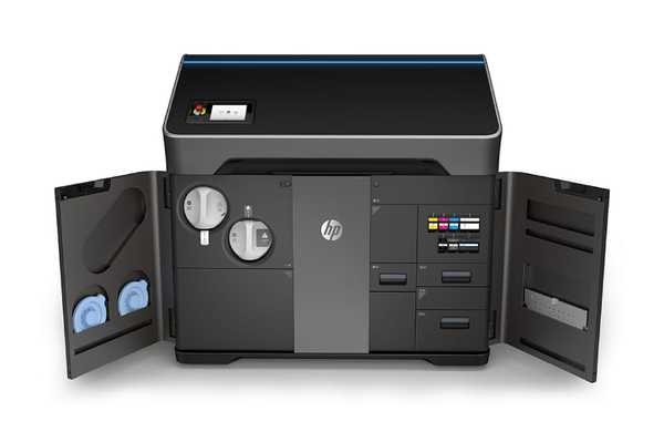 HP - 3D Printer - Jet Fusion 580 Color 3D Printer