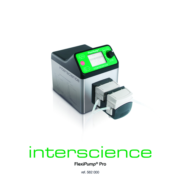Interscience FlexiPump Pro Dispensing Pump