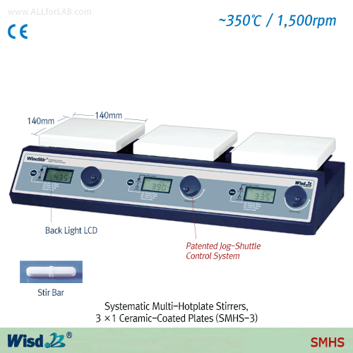 Daihan Systematic Multi-Hotplate Stirrers