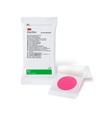 3M™ Petrifilm™ E. coli/Coliform Count Plates
