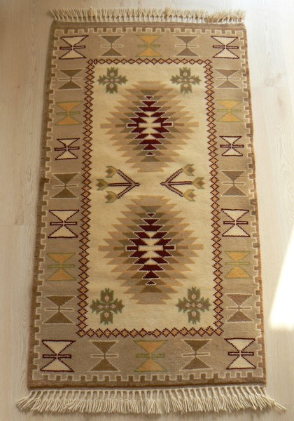 Turkish Ayvacik Handmade Rug