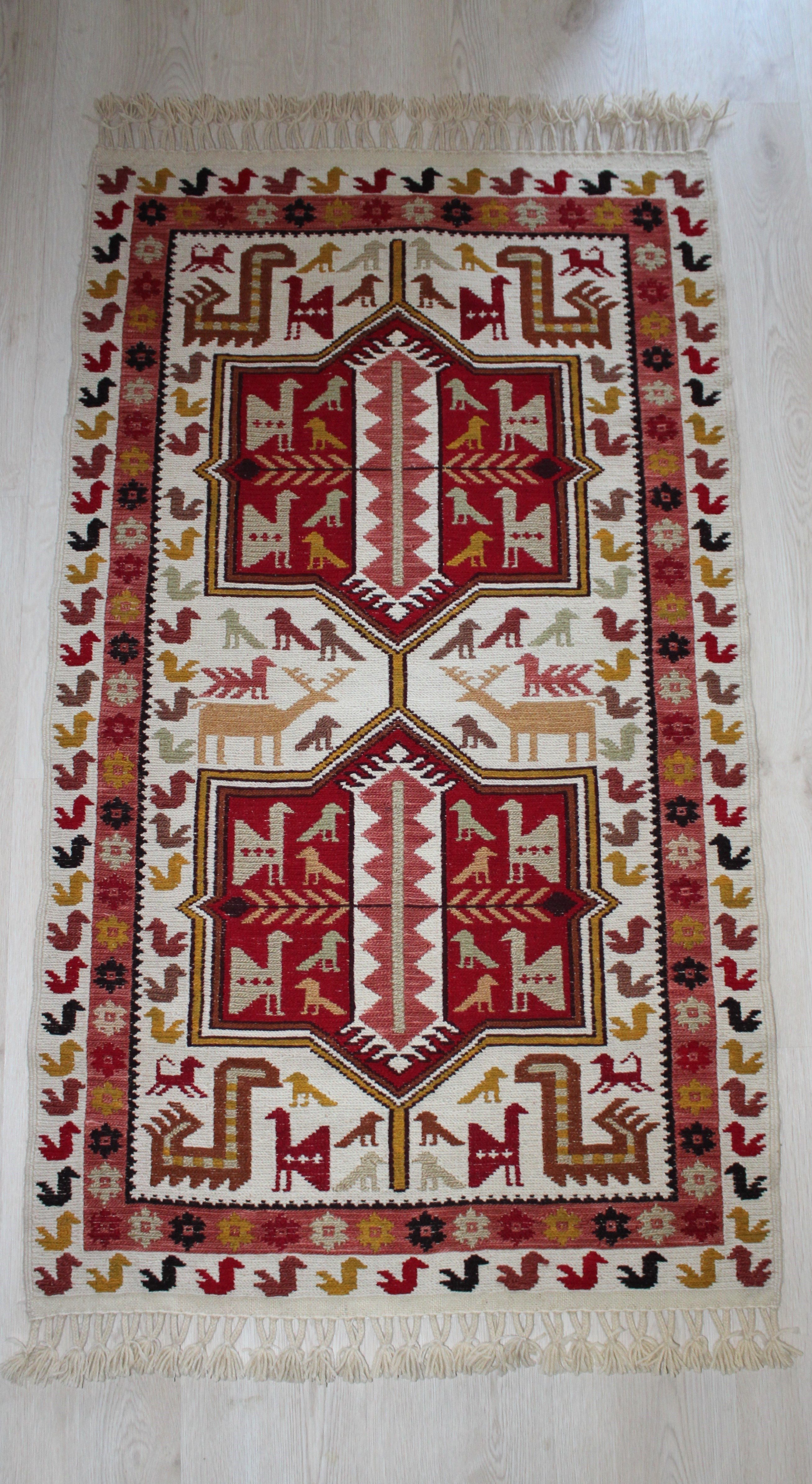 handwoven kilims of a rug colorful vintage turkish kilim shop large decorative rugs one kind