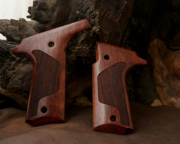 Colt Double Eagle Rosewood Grip