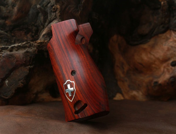 Sig P210 Exotic Cocobolo Wood