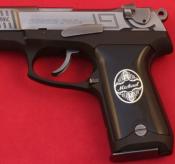 Ruger P85 P89 P90 P91 Custom (Your Name and Last Name)