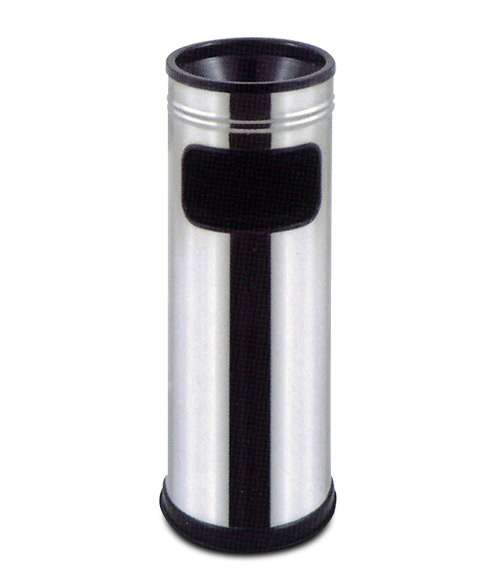 Neo 108p Stainless Steel Cigarette Bin Ashtray With Sand
