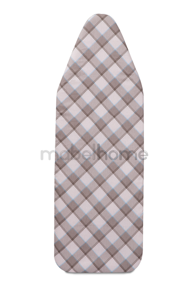 "Mabel Home – 47"" x 18"" XL - ironing Board Cotton Cover, 3 Layer Padded"