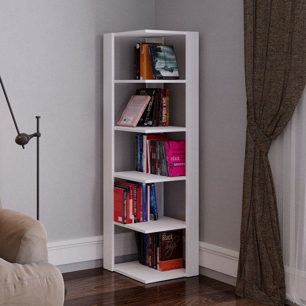 inspiring and in for medium incredible inside bookcases corner of smart size creative bathroom home white own bookcase your with design doors