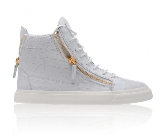'Giuseppe Zanotti high-top trainers - White