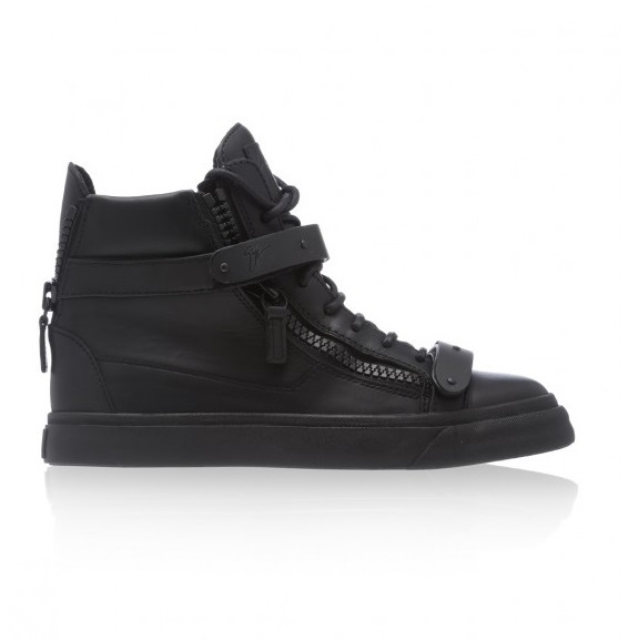 Giuseppe Zanotti - Black High Top trainers
