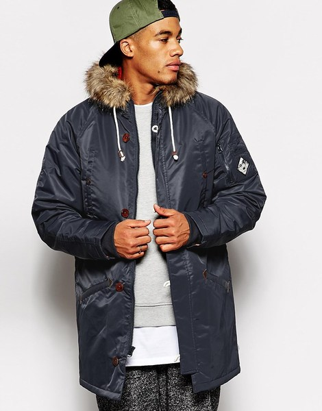 A Tudor Parka Jacket by Vans