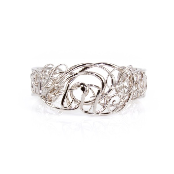 Let it Go Bracelet - Silver