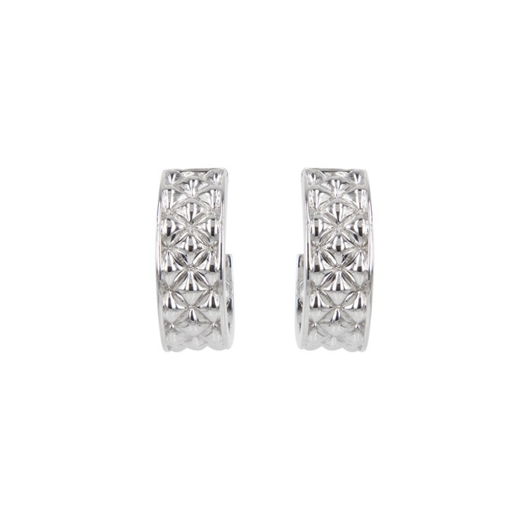 Deco Classic Hoop Earrings - Small