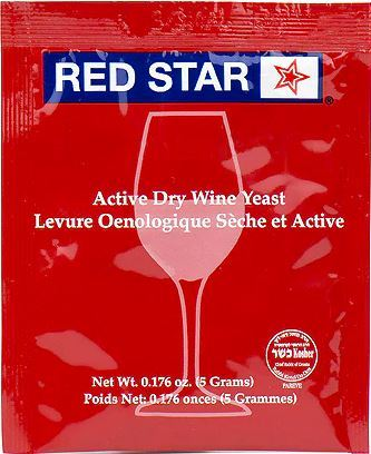 Red Star Wine Yeast - 5 g