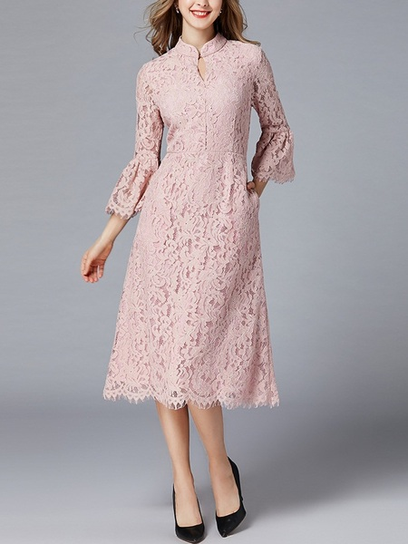 Miah Pink Qipao Dress