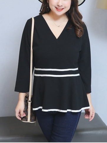 Peplum Top (XL-4XL)