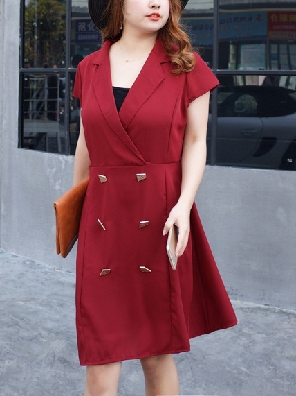 (Red XL*2 Ready Stock, All Other Options Preorder) Kelina Tux Dress