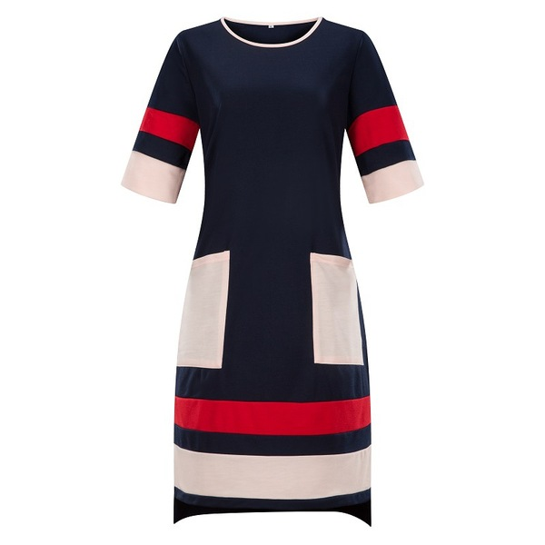 Mikki Colourblock Tee Dress