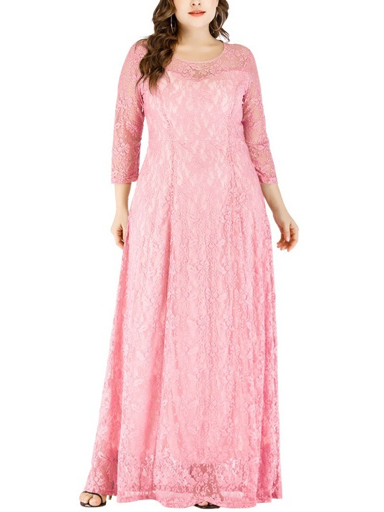 Mikenna Lace Sweetheart Maxi Dress