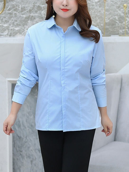 Miwa Panel Office Work Shirt (EXTRA BIG SIZE)