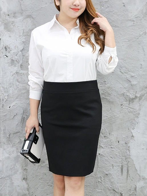Mixtlicoatl Office Work Skirt (EXTRA BIG SIZE)