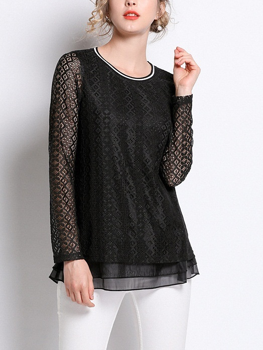 Myranda Lace L/S Top