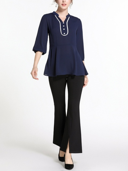Naia Blue Blouse