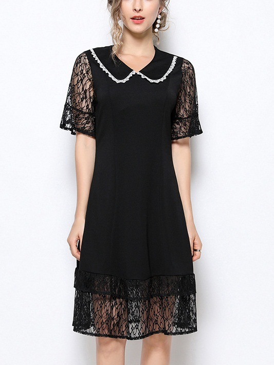 Oddveig Chanelesque Peterpan Collar Dress