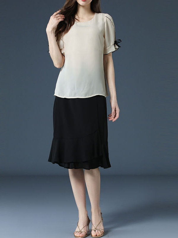 Onora Blouse and Skirt Set